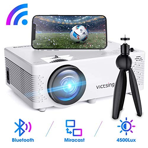 Mini Proyector VicTsing WiFi Bluetooth Full HD